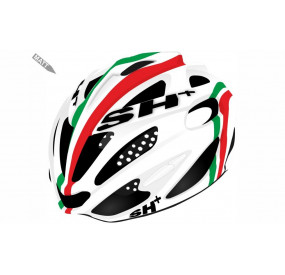 BIKE HELMET senior SHOT R1 RED/WHITE - 55/60 - S/L