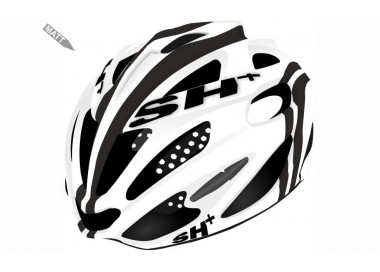BIKE HELMET senior SHOT R1 WHITE/BLACK - 55/60 - S/L