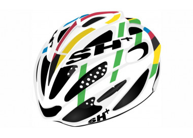 BIKE HELMET senior SHOT R1 WHITE/RED - 55/60 - S/L