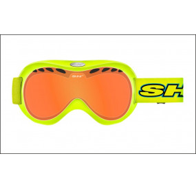 BIKE HELMET SHALIMAR YELLOW FLUO