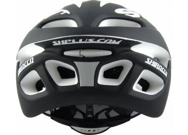 CASCO BICICLETTA SHALIMAR PRO BLACK MATT/GREEN