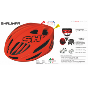 BIKE HELMET senior SHOT R1 YELLOW MATT/BLACK - 55/60 - S/L
