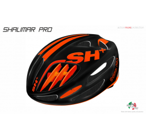 BIKE HELMET  SHABLI BLACK MATT/ORANGE - 55/60 - S/L