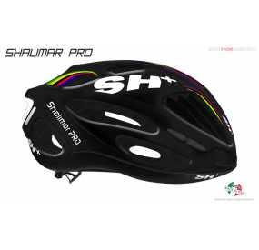 BIKE HELMET  SHABLI S-LINE BLACK MATT/RED - 55/60 - S/L