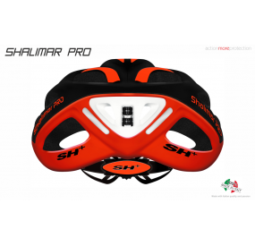 BIKE HELMET  SHABLI S-LINE BLACK/RED - 55/60 - S/L