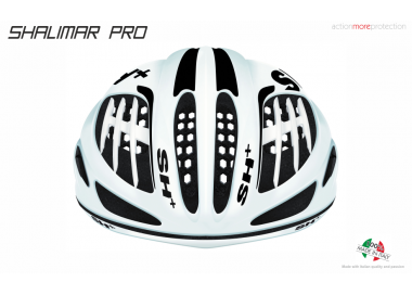 BIKE HELMET SHALIMAR BLACK MATT/RED