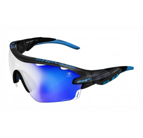 "SPORTGLASSES ""RG 5100"" GRAPHITE revo laser blue cat.3"