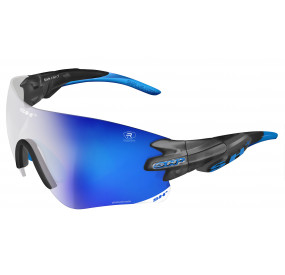 "SPORTGLASSES ""RG 5200 REACTIVE FLASH"" GRAPHITE photocromic lens r.flash bluecat.1-3"