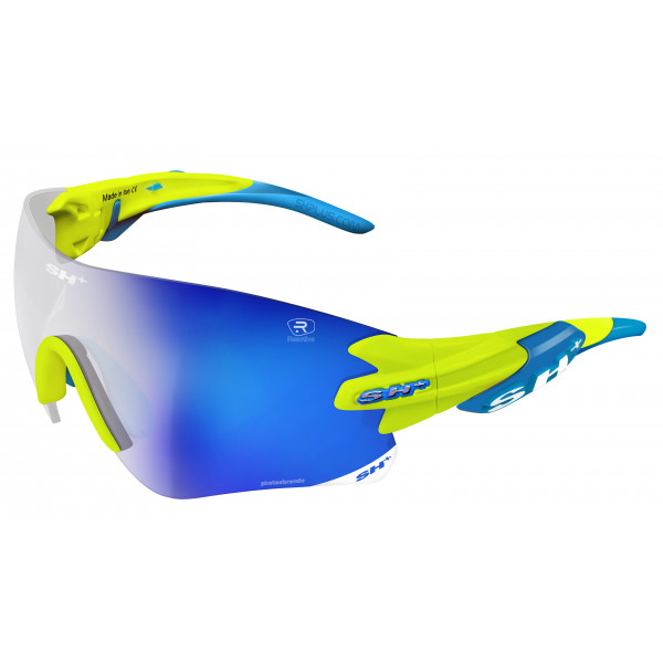 "SPORTGLASSES ""RG 5200 REACTIVE FLASH"" YELLOW photocromic lens r.flash blue cat.1-3"