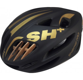 BIKE HELMET SHALIMAR PRO BLACK MATT/GOLD