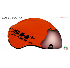 BIKE HELMET TRIAGHON HF ORANGE F./BLACK