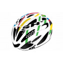 BIKE HELMET SHOT R1 WHITE/RED - 55/60 - S/L