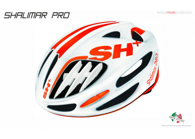 BIKE HELMET SHAKE RED/WHITE