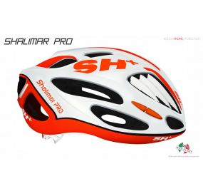 BIKE HELMET SHALIMAR PRO WHITE MATT/ORANGE