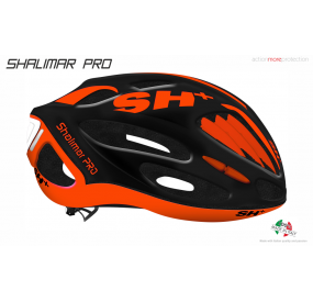 BIKE HELMET SHALIMAR PRO BLACK MATT/ORANGE