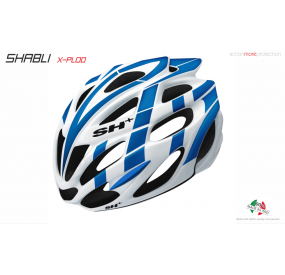 BIKE HELMET SHABLI X-PLOD WHITE/BLUE