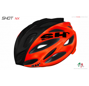 "BIKE HELMET  SHOT ""NX"" ORANGE/BLACK/ORANGE"