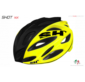 "BIKE HELMET  SHOT ""NX"" YELLOW/BLACK/YELLOW"