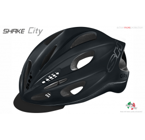 BIKE HELMET SHAKE CITY ANTHRACITE MATT
