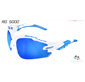 "MULTISPORT - GLASSES ""RG 5000"" WHITE revo laser blue cat.3"