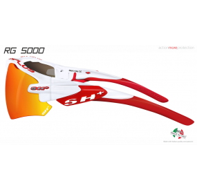 "MULTISPORT - GLASSES ""RG 5000"" WHITE/red revo laser red cat.3"