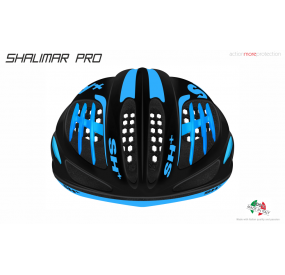 BIKE HELMET  SHALIMAR PRO BLACK MATT/BLUE