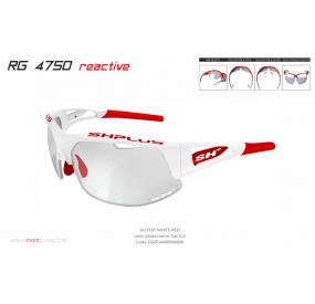 """MULTISPORT - GLASSES RG 4750 REACTIVE""""cat.0-2 WHITE/RED"""""""