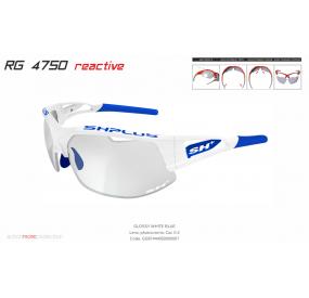"""MULTISPORT - GLASSES RG 4750 REACTIVE""""cat.0-2 WHITE/BLUE"""""""