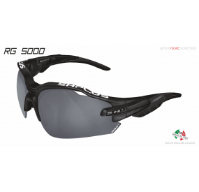 "MULTISPORT - GLASSES ""RG 5000"" BLACK MATT smoke cat.3"