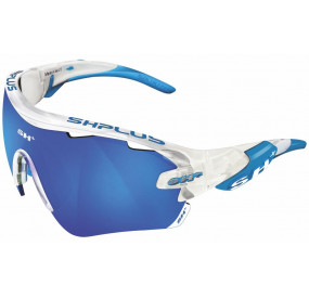 "SPORTGLASSES ""RG 5100"" CRYSTAL WHITE revo blue cat.3"