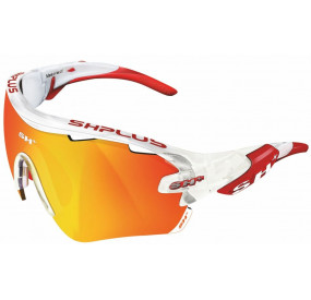 "SPORTGLASSES ""RG 5100"" CRYSTAL WHITE revo red cat.3"