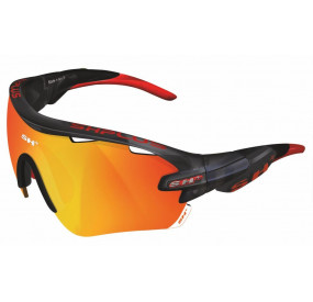 "SPORTGLASSES ""RG 5100"" GRAPHITE revo laser red cat.3"