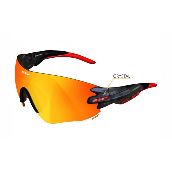 "SPORTGLASSES ""RG 5200"" GRAPHITE MATT RED revo laser red cat.3"