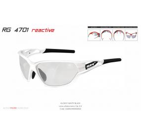 "MULTISPORT - GLASSES ""RG 4701 REACTIVE PRO""cat.0-2 WHITE/BLACK"