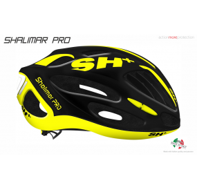 BIKE HELMET SHALIMAR PRO BLACK MATT/YELLOW