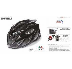 CASCO BICICLETTA SHABLI NERO - 55/60 - S/L