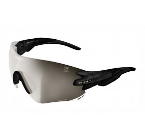 "SPORTGLASSES ""RG 5200 REACTIVE FLASH"" BLACK MATT photocromic lens r.flash silver cat.1-3"
