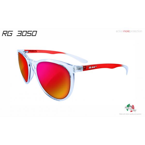 "SUNGLASSES ""RG 3050"" CRYSTAL RED lens REVO RED cat.3"