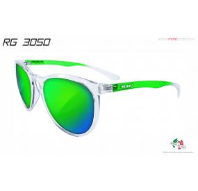 "SUNGLASSES ""RG 3050"" CRYSTAL GREEN lens REVO GREEN cat.3"