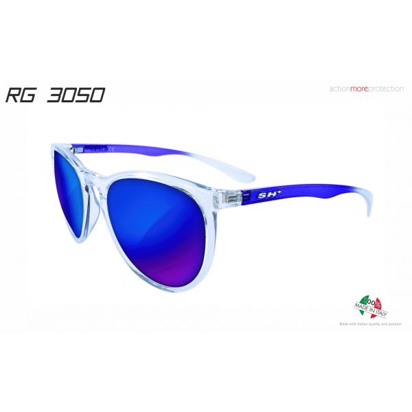 "SUNGLASSES ""RG 3050"" CRYSTAL BLUE lens REVO BLUE cat.3"