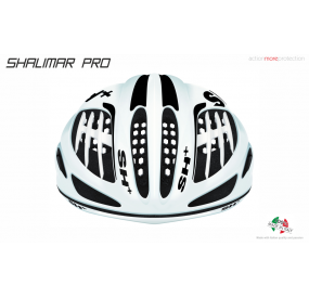 BIKE HELMET SHALIMAR PRO WHITE MATT BLACK