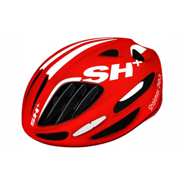 BIKE HELMET SHALIMAR PRO GLOSSY RED/WHITE