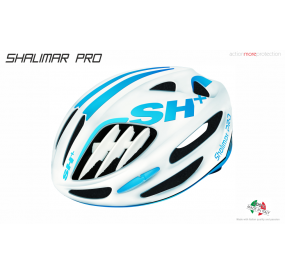 BIKE HELMET SHALIMAR PRO WHITE MATT/BLUE