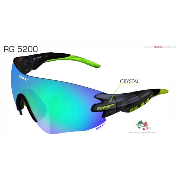 "SPORTGLASSES ""RG 5200"" GRAPHITE revo laser green cat.3"