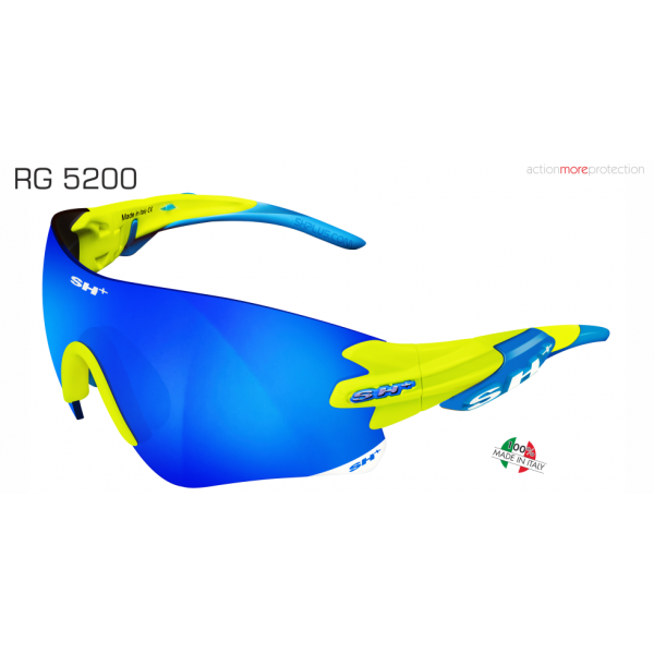 "SPORTGLASSES ""RG 5200"" YELLOW revo laser blue cat.3"