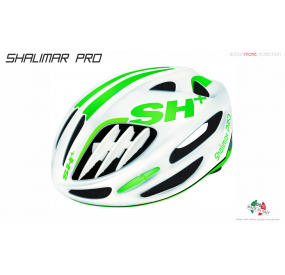 BIKE HELMET SHALIMAR PRO WHITE MATT/GREEN