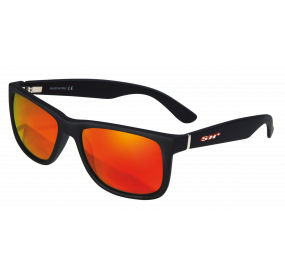 "SUNGLASSES ""RG 3080"" BLACK MATT lens REVO RED cat.3"