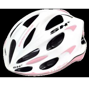 BIKE HELMET SHAKE WHITE/pink