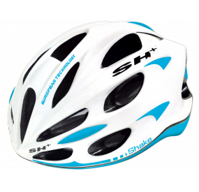 BIKE HELMET SHAKE WHITE/light blue