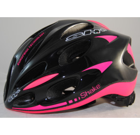 BIKE HELMET SHAKE BLACK/PINK